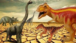 ЗАСУХА в стране ДИНОЗАВРОВ. Мультфильмы про динозавров. Детский канал