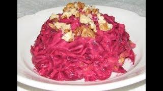 Новая закуска из свеклы и сыра на праздничный стол .side dish.Salad.Beetroot salad .Beetroot  .