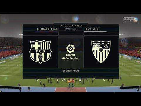 FC Barcelona Vs Sevilla Full Football Match | Fifa 19 Xbox One S Gameplay