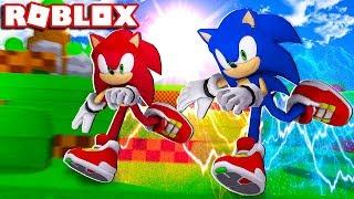 Roblox - SONIC VERMELHO VS SONIC AZUL (Crossover Sonic 3D)