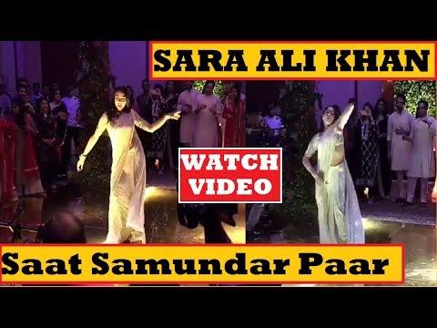 Full Video: Sara Ali Khan Dancing on Saat Samundar Paar  Bollywood Party  Final Cut News