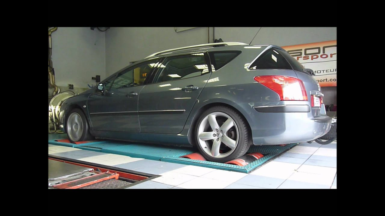 Reprogrammation Moteur Peugeot 407 Sw 2 2 Hdi 170 Youtube