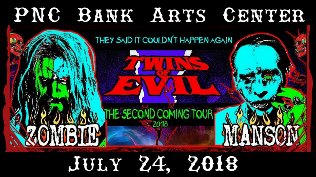 Rob Zombie PNC Bank Arts Center July 24, 2018