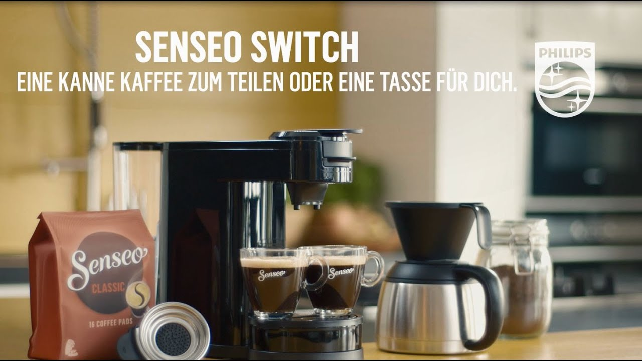 2 In Test Switch 1 KaffeemaschineAusführlicher Senseo gf7mvIb6Yy