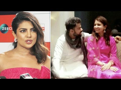 Priyanka Chopra REACTS on Virat Kohli Anushka Sharma Wedding