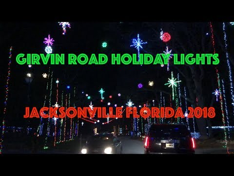 Girvin Road Holiday lights - Jacksonville, FL - 2018