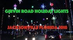 Girvin Road Holiday lights - Jacksonville, FL - 2018