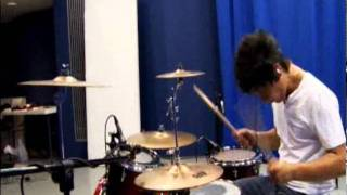 Kevin Vakency - David Guetta - The World Is Mine (Drum Cover Remix)