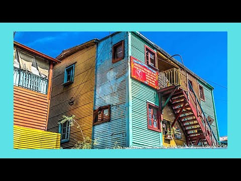 La Boca neighborhood, its spectacular buildings and architecture, Buenos Aires