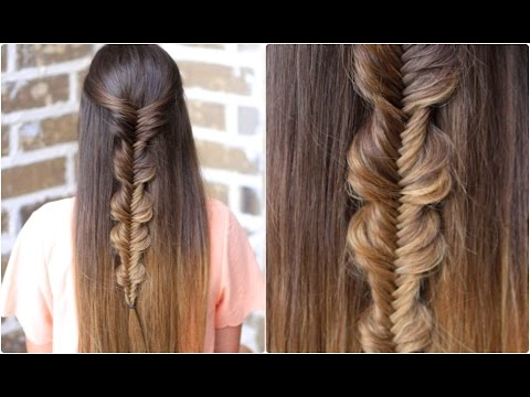 No-Band Bubble Fishtail | Cute Girls Hairstyles