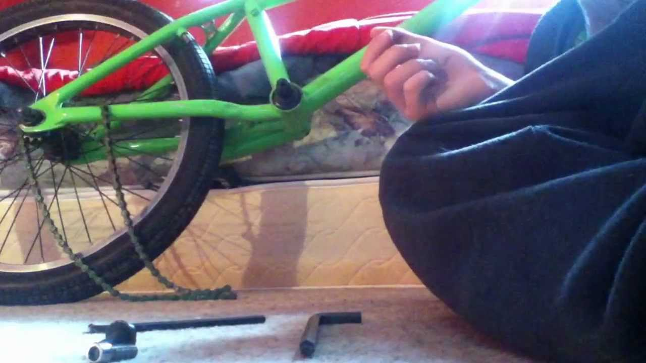 How To Change Sprocket On A Bmx In Under 5 Min Youtube