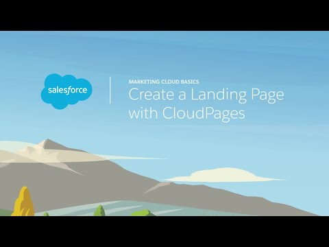 Web Studio & Content Builder - Create a Landing Page with CloudPages