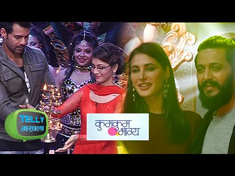 Abhi And Pragya Do Ganpati Aarti With 'Banjo' Team