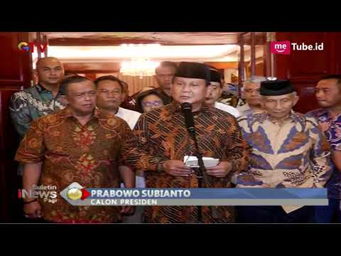 Prabowo Benarkan Kabar Ratna Sarumpaet Dianiaya di Bandung - BIP 03/10
