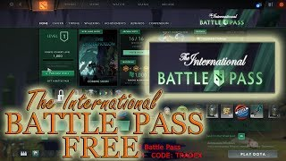 Dota 2 Free TI8 BATTLE PASS 2018. Preview