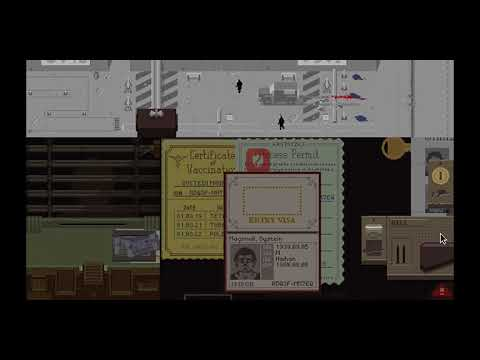 Stream Highlights - Papers Please: Truck of Peace Attacks