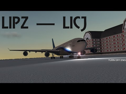 Extreme Landings Pro Long-Flight   Sunrise: Venice (LIPZ) to Palermo (LICJ)   No Commentary (TEST)