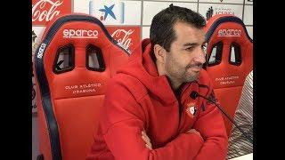 Diego Martínez. Previa Sevilla Atlético-Osasuna