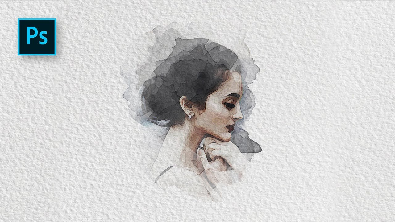photoshop watercolor filter