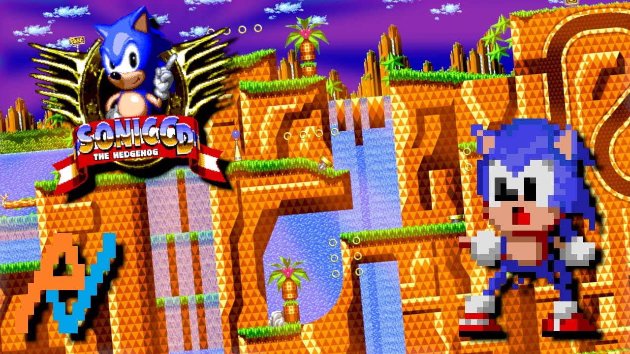 Sonic Wallpaper Hd 3d Sega Atlas Sonic Cd Palmtree Panic Zone 2 Youtube