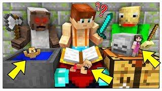 MINI NASCONDINO NELLA CASA DEI CATTIVI DA PICCOLISSIMI! - Minecraft ITA