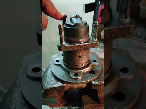 Ремонт, восстановление задней ступицы на опель вектра б