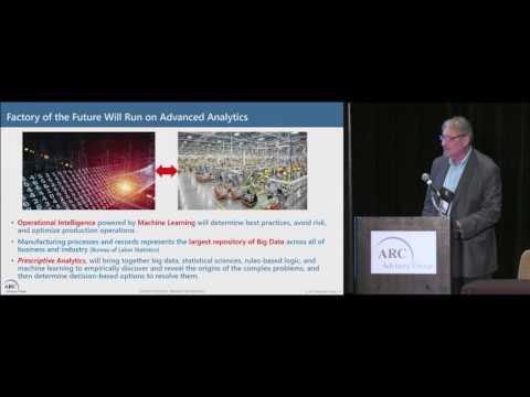 Advanced Technology for the Factory of the Future - Dick Slansky of ARC @ ARC Orlando Forum 2017