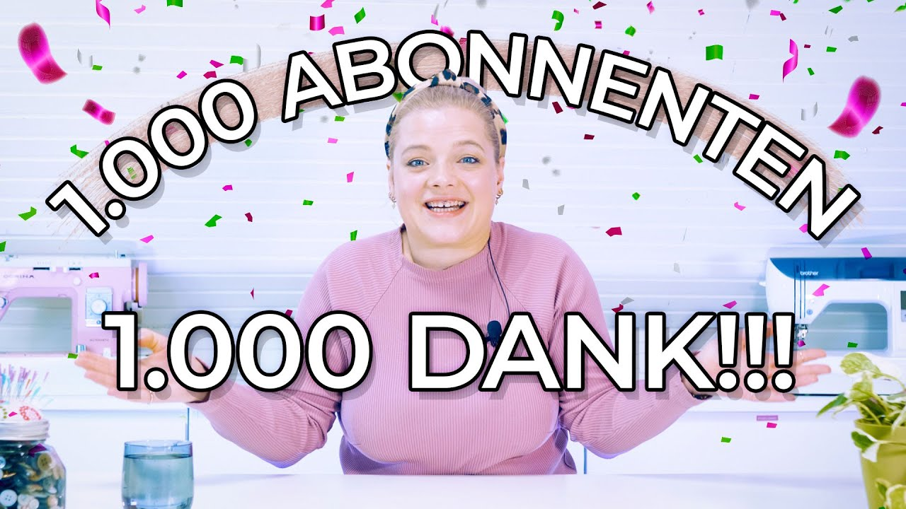 1000 Abos auf Youtube!