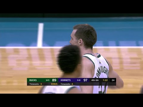 Bucks - Bucks fall short in rally against Hornets, 110-107