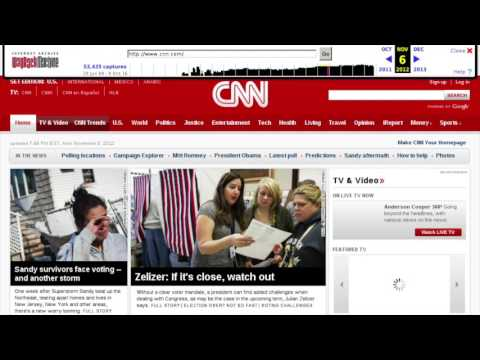 CNN  2012 US General Elections