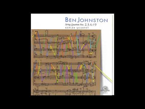 Kepler Quartet - Ben Johnston - String Quartets Nos. 2-4 & 9