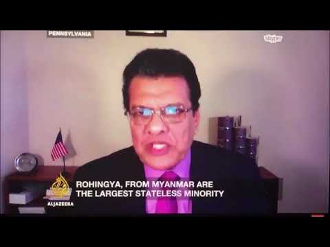 "Dr Wakar says, ""Rohingya are citizens; they can not accept NVC."