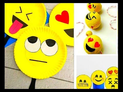 Emoji Crafts for Endless Amounts of Fun! Ideas