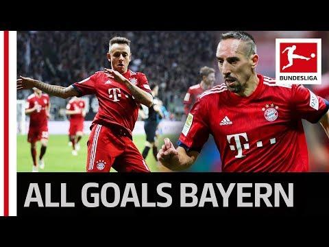 Ribery Brace and Rafinha's Long Range Beauty - Bayern's 3-0 Win in Frankfurt