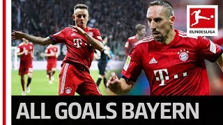 Ribery Brace and Rafinha's Long Range Beauty - Bayern's 3-0 Win in Frankfurt