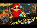 MCPE 1.0.2 - Servidor SkyWars, Criativo e FAC - Minecraft PE (Pocket Edition)