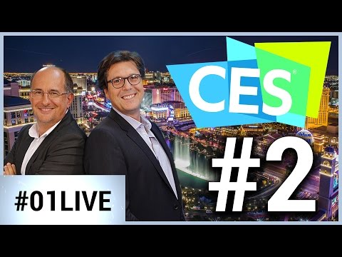 CES Las Vegas 01LIVE #2 : Des téléviseurs de 3 mm d'épaisseur ? LG l'a fait !