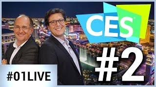 CES Las Vegas 01LIVE #2 : Des téléviseurs de 3 mm d