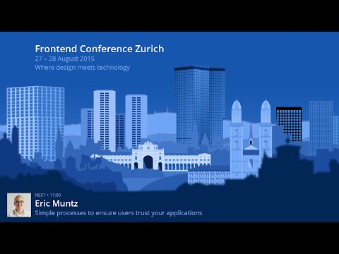 Eric Muntz – Simple processes to ensure users trust your applications
