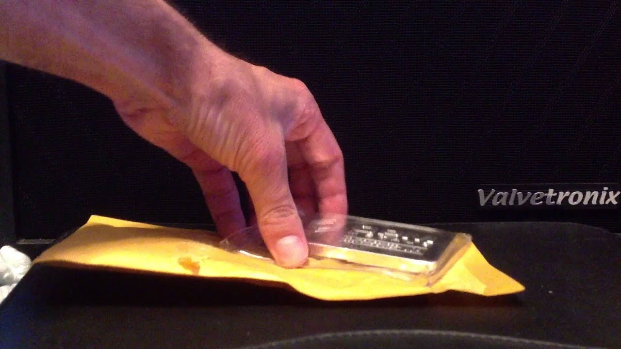 10 Oz Opm Silver Bar Unboxing Provident Metals Youtube