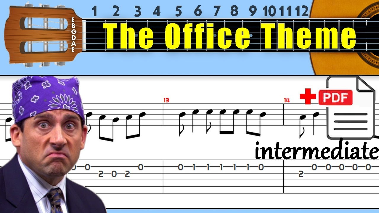 The Office Theme Guitar Tab
