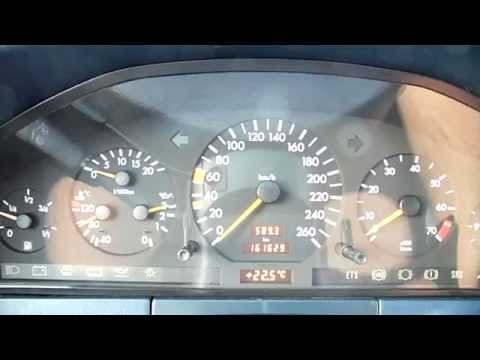 Mercedes-Benz W140 S320 0-100