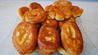 Пирожки с абрикосами из творожного теста СУПЕР БЫСТРО !!!