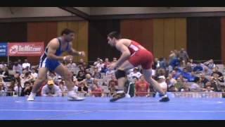 Brent Metcalf dec. Chris Bono - 66 kg quarterfinals at U.S. Freestyle Nationals