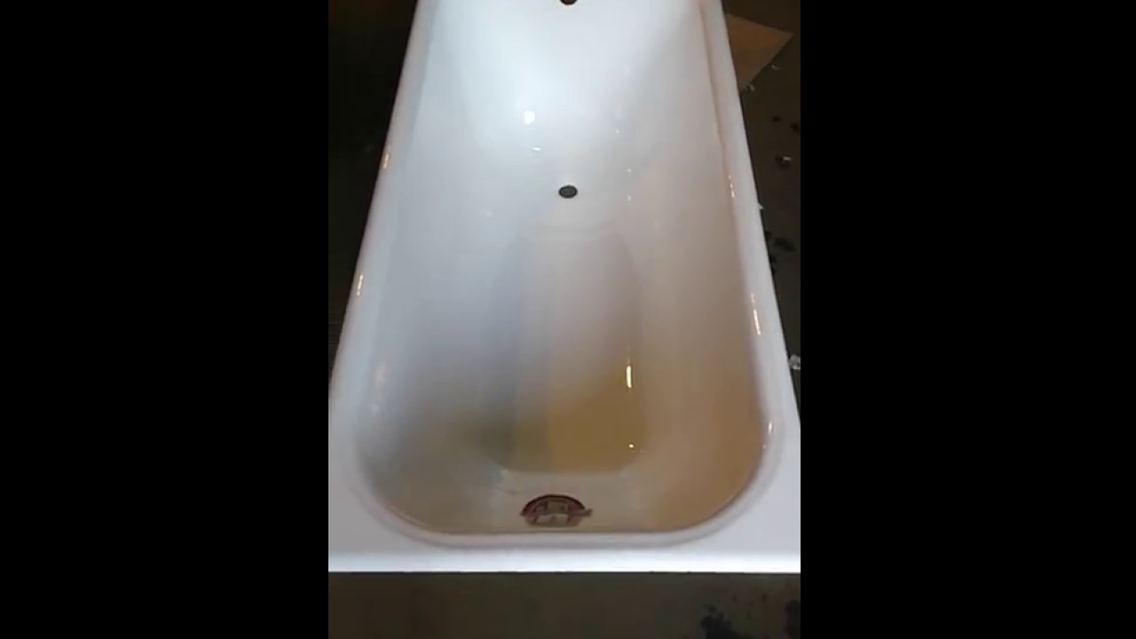 Ванна чугунная Goldman ZYA 8-5 150x70 - YouTube