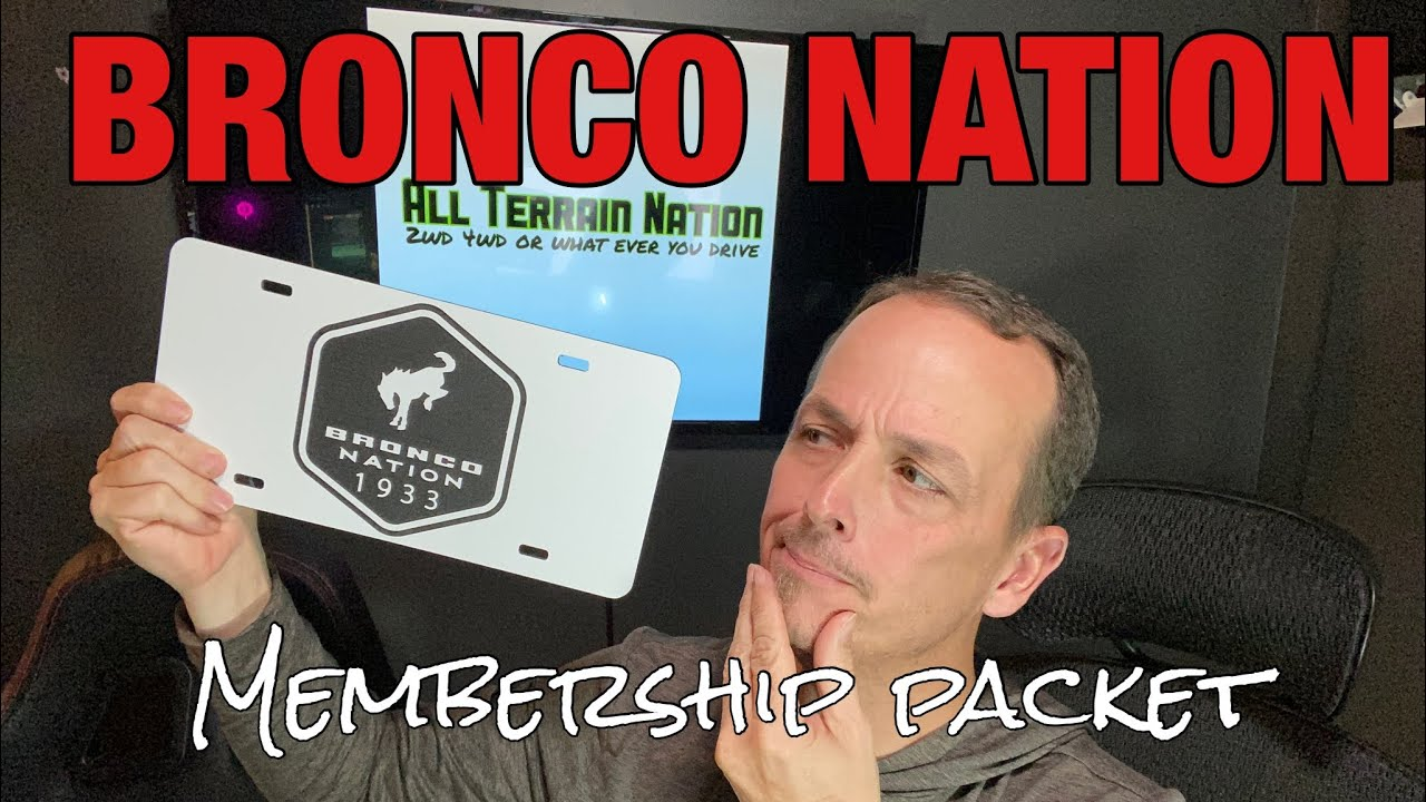 Opening the Bronco Nation Membership package