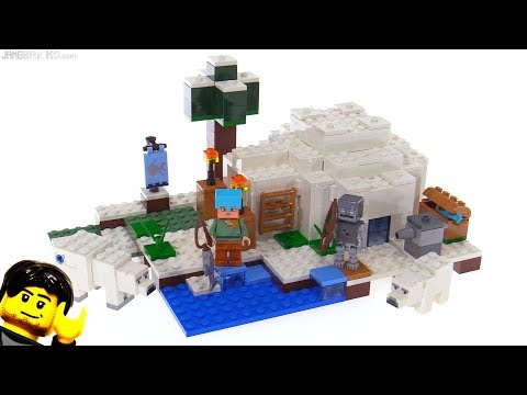 LEGO Minecraft The Polar Igloo review! 21142