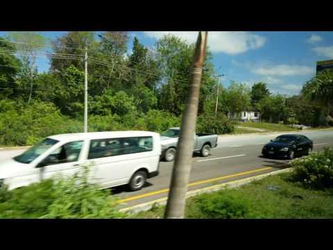 Bus Ride to Playa del Carmen Mexico May 2017 4K P1
