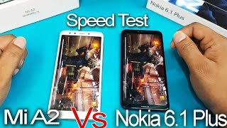 Nokia 6.1 Plus  vs  Xiaomi Mi A2 Speed Test || AnTUTU Benchmark Scores || Nokia VS Xiaomi