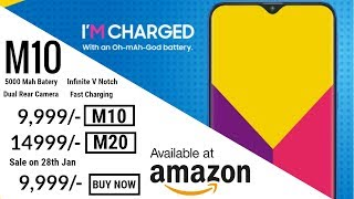 Galaxy M10 - UNBOXING Video and PRICE Leaked!